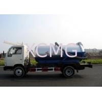 Buy cheap Self-Flow Emission Special Purpose Vehicles , Septic Pump Truck For Transporting Feces & Sludge & Screes from wholesalers