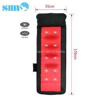 Wholesale Black Red PU Heated Massage Mattress Safety 15mins Timer Relief Muscle Stress from china suppliers