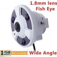 Wholesale Fish Eye Wide Angle 120° 1.8mm Lens Highest Megapixel Camera HD 1920X1080 2MP from china suppliers