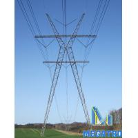 Wholesale 400KV X-TYPE lattice steel tower from china suppliers
