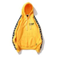 Wholesale High quality arm strap custom wholesale mens embroidery pullover hoodies from china suppliers