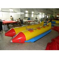 Wholesale 8 Person Customized Towable Banana Boat 0.9 mm PVC For Water Park from china suppliers