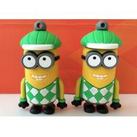 Wholesale Cute Minion Shaped PVC Usb Flash Disk Driver For Kids , Students from china suppliers