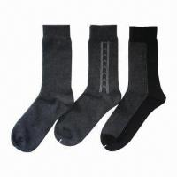 Quality Men's socks, made of cotton and spandex  for sale
