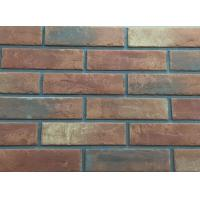 Wholesale 3D206 Acid Resistance Turned Color Interior Brick Wall Clay Material from china suppliers
