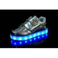 Quality Unisex Flat LED Light Luminous Shoes for Kid for sale