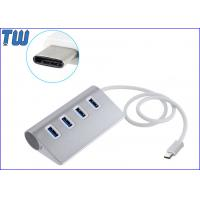 Wholesale 4 USB 3.0 Ports USB 3.1 USB-C Hub Generous and Portable Triangle Design from china suppliers
