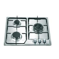 Wholesale Stainless Steel 3 Burner Gas Hob , Built In Three Burner Gas Stove Accurate Control from china suppliers