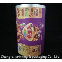 Wholesale Food Grade Matte Surface Rollstock Film Snacks / Inflated Food Packaging Film Roll from china suppliers