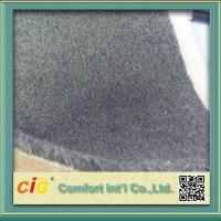 Wholesale Grey Flame Retardant Carpet Fabric , Polyester Bonding Brushed Carpet for Indoor or Outdoor from china suppliers