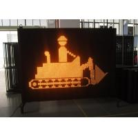 Wholesale Electronic Full Color Yaham LED Variable Message Signs Hire For Road / Bridge Construction from china suppliers