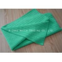 Wholesale Plain Pattern Handmade Crochet Blankets Rib Linen Green Knitting Baby Blankets from china suppliers