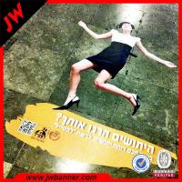 Quality Advertise custom design PVC roll flooring / pvc flooring vinyl sticker for sale