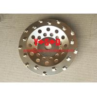 Buy cheap 4 Quarter Round PCD Diamond Concrete Cup Wheels for Concrete coatings removal 7