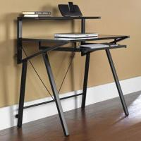 Quality Tempered glass computer desk, measures 97.5 x 60 x 95cm for sale