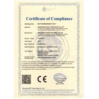 ShenZhen HuiTuo Electronic Co.,Ltd Certifications
