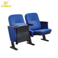 Wholesale Fabric  Auditorium Seating Floor Fixed Church Hall Chairs / Low Back Chair from china suppliers