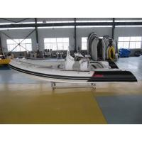 Wholesale 12 Person Max Luxury Inflatable Hull Boats , Fiberglass + Hypalon Rib Boat from china suppliers