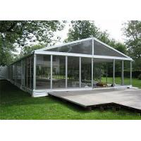 Buy cheap Aluminum Frame Clear Span Tents Transparent Wedding Tent With Glass Sidewalls from wholesalers
