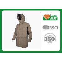 Wholesale Multi Function Breathable Waterproof Rain Jacket / Coat Grey Color Rainwear from china suppliers