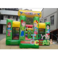 Wholesale Colorful Commercial Inflatable Bounce House Jumping For Toddlers from china suppliers