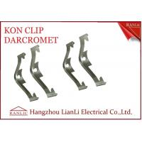 Wholesale Electro Galvanized EMT Conduit Fittings NO 65 Manganese Steel Caddy Clip Kon Clip from china suppliers