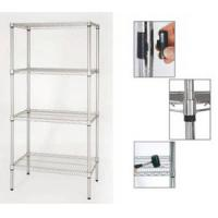 Wholesale NSF Metro Standard Healthcare Chrome Metal Storage Shelving for Hospital Use from china suppliers