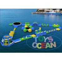 Wholesale Ultimate Huge Inflatable Water Park For Lake Floating Customized from china suppliers