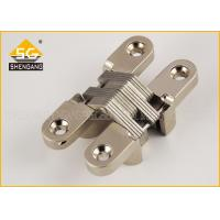 Wholesale Zinc Alloy 180 Degree Invisible American Hinge For Interior Cupboard Door from china suppliers