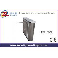 Wholesale Arc Standard subway tripod turnstile gate with CE approved , Bridge type from china suppliers