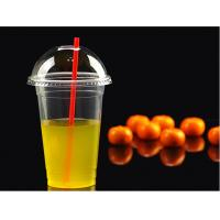 Wholesale Tall Plastic PET Disposable Juice Cups For Beverage 20oz 9.8x14cm from china suppliers