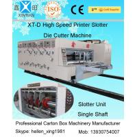 Wholesale Single Slotting Adjustable Auto Carton Packing Machine / Corrugated Carton Machine from china suppliers