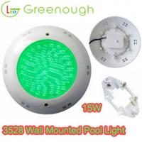 Quality 12V 15W Wall mounted Pool light /Concrete Pool&Spa Lights China manufacturer and Supplier for sale