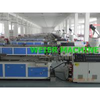 Wholesale WPC (Wood Plastic) Extrusion Line For Wood-Plastic Composite Profiles from china suppliers