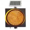 Buy cheap Best price 400mm solar LED Amber Warning Light solar traffic light from wholesalers