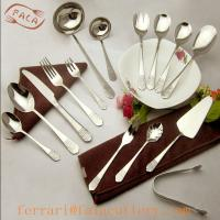 Wholesale Middle East Style High Grade Royal 72Pcs Gold Cutlery Set from china suppliers