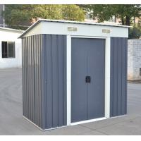 Wholesale Pent Roof Metal Storage Shed With 8X6ft , Zinc Steel Frame Metal Garden Shed from china suppliers
