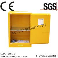 Quality Self-Locking Flammable Liquid Chemical Storage Cabinet , 15 Gallon Thickness1.2mm for sale