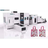 Buy cheap Japan Bearing Non Woven Box Bag Making Machine With Taiwan Cylinder 40 - 50 Pcs / Min from wholesalers