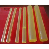 Wholesale Solvent Resistance Polyurethane Rubber Rod Bar Natural Color Hardness 60A - 95A from china suppliers