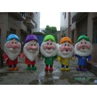 Wholesale custom plush dwarfs disney cartoon character costumes for adults from china suppliers