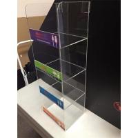 Buy cheap 4 Tier New Design Clear Acrylic Cell Phone Charger Display Supplier from wholesalers