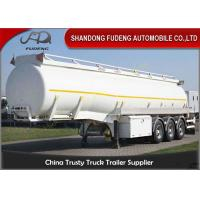Wholesale Bitumen Storage Transport Tanker Trailer /  Tri Axle petroleum tank trailers from china suppliers