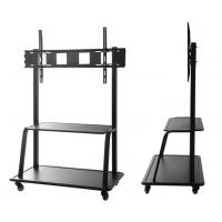 Wholesale TV Mobile Bracket Conference Room LCD Monitor Lift Floor Large Screen Display Bracket Cart from china suppliers