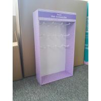 Wholesale Purple Power Wing Display stand with hook display rack 4C offset printing from china suppliers