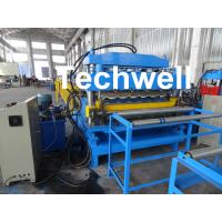 Wholesale Steel Double Layer Roof Roll Forming Machine / Roofing Sheet Roll Forming Machine from china suppliers