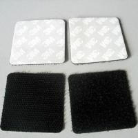 Wholesale 3M adhesive backed strong sticky  velcro squares from china suppliers