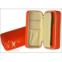 Wholesale Orange Wrist Watch Travel Case / Women Travel Case For Watches from china suppliers