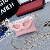 Wholesale Cotton Transparent Glasses Over The Shoulder Bags  26x1x15 cm from china suppliers