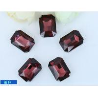 Wholesale loose crystal sew on rhinestone fancy jems rhinestone rectangle 13*18mm from china suppliers